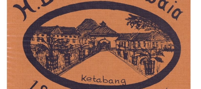 Afbeelding op de omslag jubileumboek hbs 1875-1975